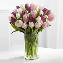 Painted Skies Tulip Bouquet Mothers Day Gifts Mother Day Mom's Gift